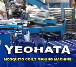 Mosquito coils making machine